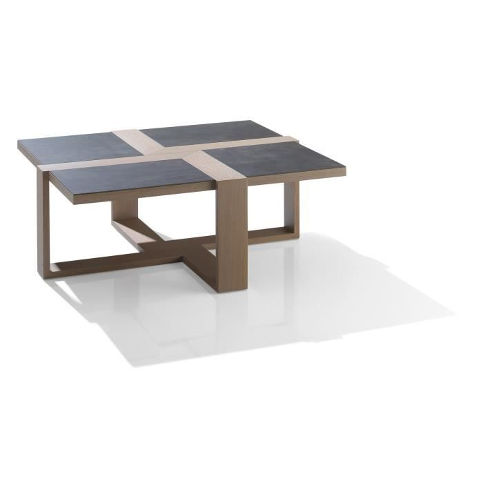 Table basse rectangulaire c ramie achat vente table for Kendra table basse
