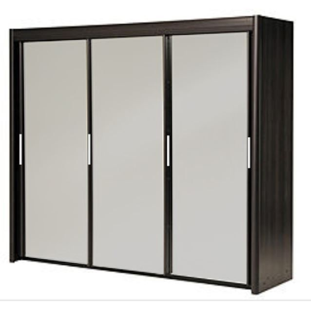 Armoire penderie 3 portes coulissantes for Armoire penderie 2 portes coulissantes