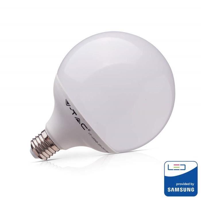 AMPOULE - LED V-TAC 17W (Equivalent 100W) Ampoule LED Globe G120