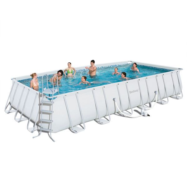 piscine bestway tubulaire 732cmx366cmx132cm achat vente kit piscine piscine bestway. Black Bedroom Furniture Sets. Home Design Ideas