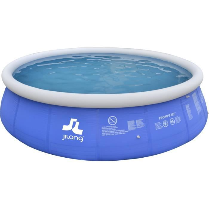 Piscine autoportante 540 x 122 bleue achat vente for Achat piscine autoportante