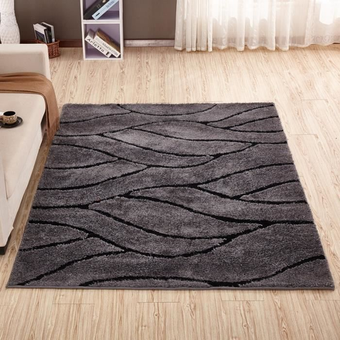 tapis chambre tapis salon carpet d enfant 120 170 cm shaggy yoga moquette anti d rapage. Black Bedroom Furniture Sets. Home Design Ideas