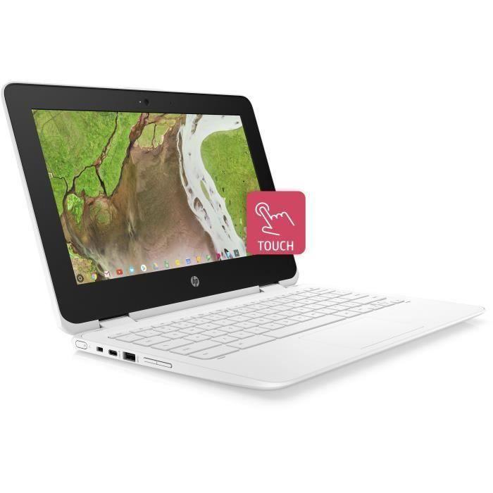"""ORDINATEUR PORTABLE HP PC Portable Chromebook 11-ae106nf - 11,6"""" HD -"""