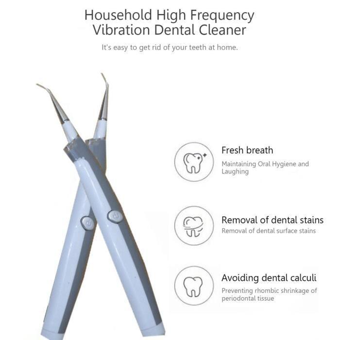 NETTOYANT APPAREIL DENT Anti Tartre Dentaire, plaque dentaire, Electrique
