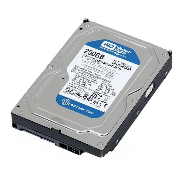 disque dur 3 5 250go sata western digital caviar blue wd2500aakx 7200 rpm 16mo prix pas cher. Black Bedroom Furniture Sets. Home Design Ideas