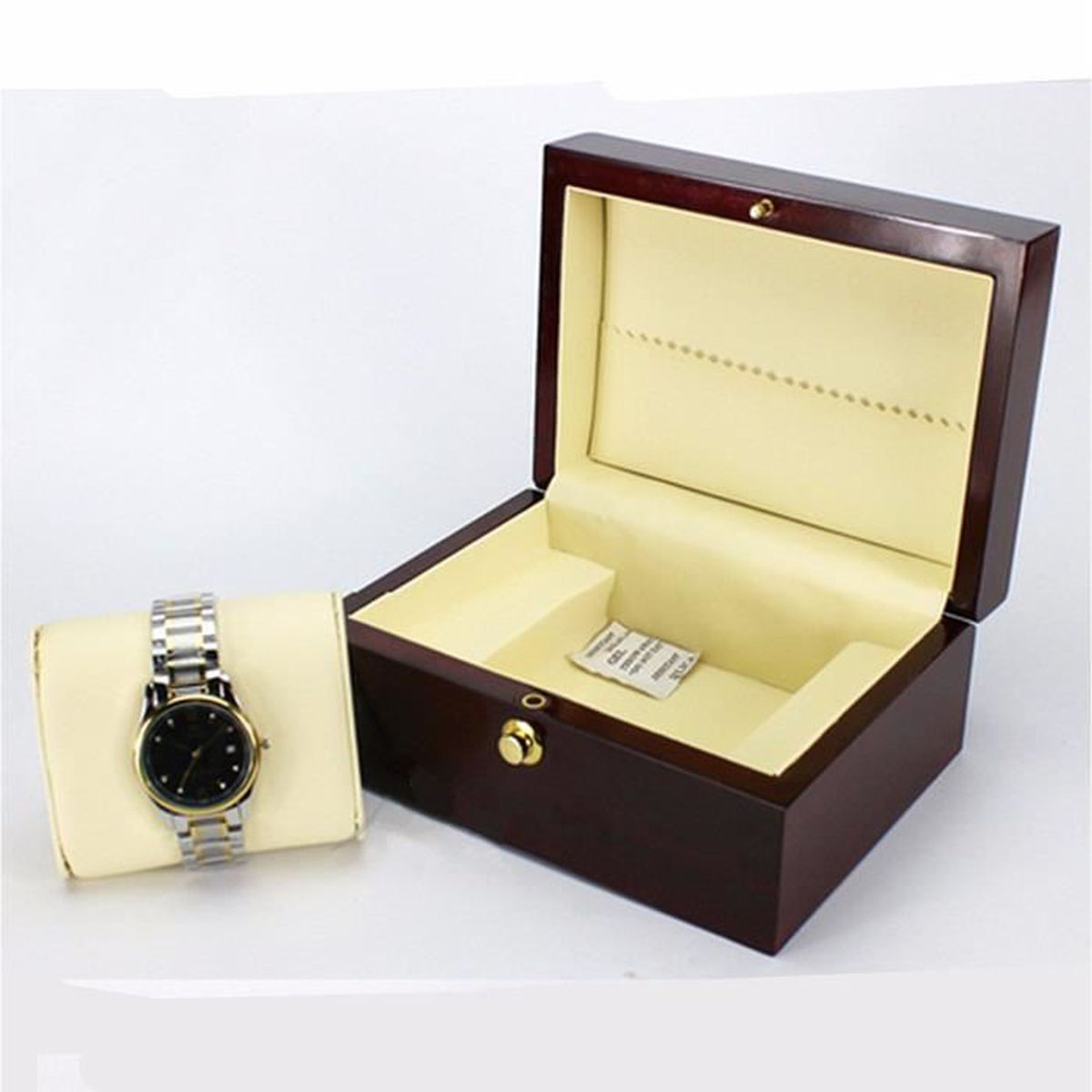 uk bo te montre bois coffret crin pr sentoir bracelet. Black Bedroom Furniture Sets. Home Design Ideas