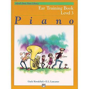 PARTITION Alfred`s Basic Piano Course, Ear Training Book 3