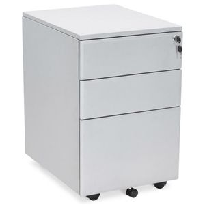 CAISSON DE BUREAU  Ce caisson de bureau 3 tiroirs design Mathias est