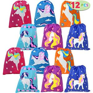 6 Papeterie Set Pony Bloc-notes Crayon Sac De Fête Jouets enfants Lucky Dip Goody