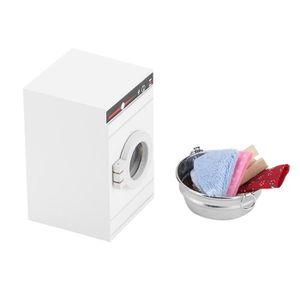 MAISON POUPÉE XUY Miniature Machine À Laver Pour Maison De Poupé