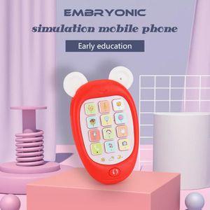 CONSOLE ÉDUCATIVE Jouets musicaux de téléphone portable de Smartphon