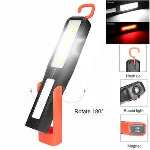 LAMPE DE POCHE COB travail magnétique LED Light Car Garage mécani