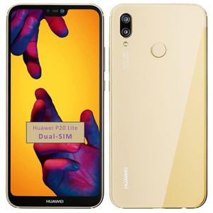 SMARTPHONE (D'or) 5.84'' Pour Huawei P20 Lite 4+64GB Occasion