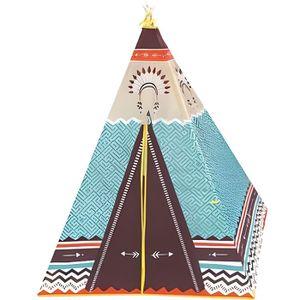 TENTE TUNNEL D'ACTIVITÉ Tipi Tente indien enfant 100 x 100 x 135 cm - Jeu