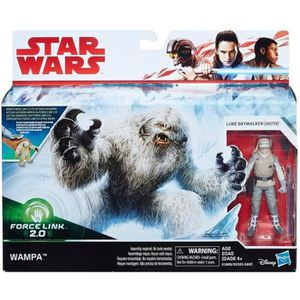 FIGURINE - PERSONNAGE Coffret Star Wars Force link 2.0 : Wampa + Figurin