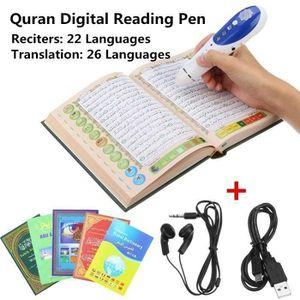 EBOOK - LISEUSE Livre Coran électronique Stylo de Lecture MP3 Rech