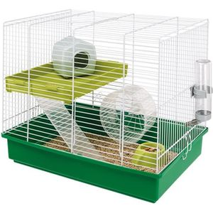 CAGE FERPLAST Cage Hamster Duo - 46x29x37,5 cm - Blanc