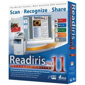 BUREAUTIQUE Readiris Pro 11 Win Fr  Corporate Ed. Desktop S…