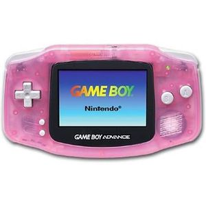 CONSOLE GAME BOY ADVANCE Console Nintendo Game Boy Advance GBA rose