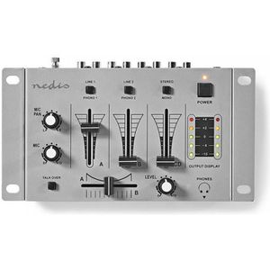 TABLE DE MIXAGE Nedis DJ Mixer - Table de mixage 3 voies stereo