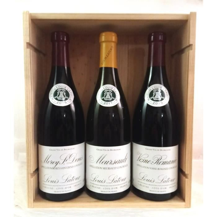 Coffret Prestige – Grandes Appellations de Bourgogne