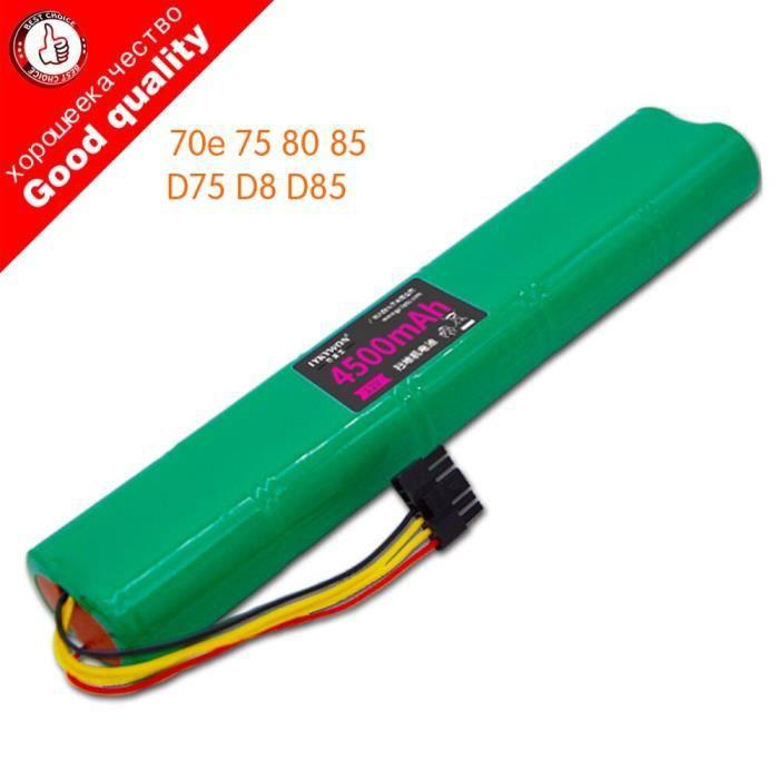 Nimh batterie de remplacement 12V, 4500mAh, pour aspirateur Neato Botvac 70e 75 80 85 D75 D8 D85*CB1768