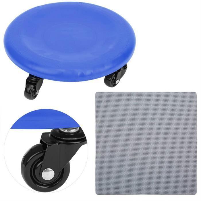 YOSOO Disque à glissière de fitness Exerciseur Abdominal Plaque à 4 Roues Disque Coulissant Équipement de Fitness Roue