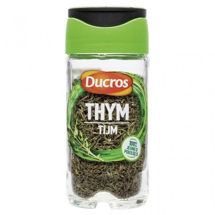Ducros Thym 100% Jeunes Pousses 14g (lot de 3)