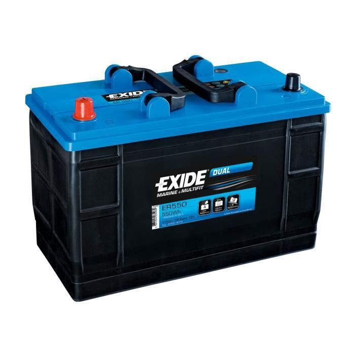 Batterie marine DUAL 115 Ah EXIDE