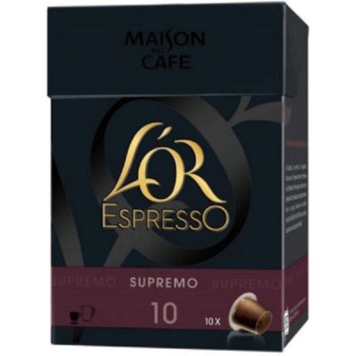 L'Or Espresso Café Supremo 11 capsules 57g
