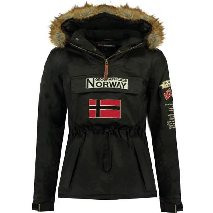 Parka Homme Geographical Norway Barman CO068 Noir