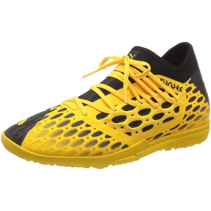 PUMA Future 5.3 Netfit Tt, Chaussures de Football Homme, Jaune ( Ultra Jaune Noir), 44 Eu