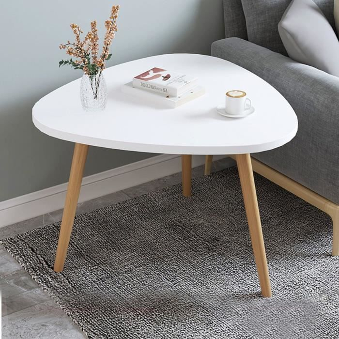 Table Basse Ronds BLANC