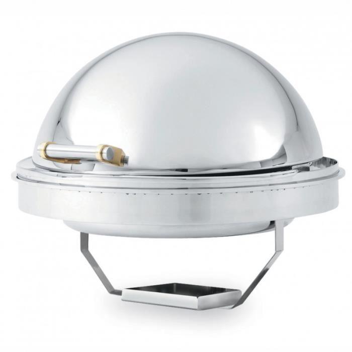 Chaffing Dish Encastrable Inox Couvercle Rétractable 5,7 L - Pujadas - - 46268 570 cl