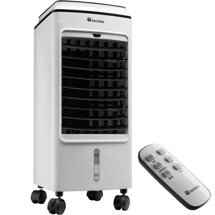 TECTAKE Climatiseur mobile 3 en 1 monobloc 3 programmes avec télécommande