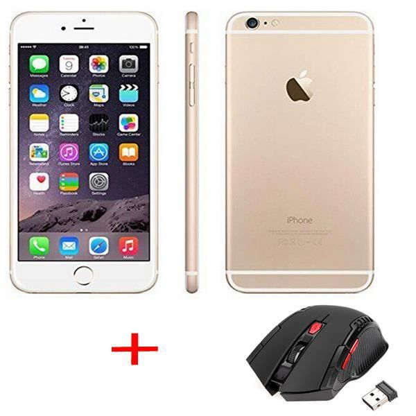 apple iphone 6 plus 64gb or sans touch id smartphone souris optical sans fil achat. Black Bedroom Furniture Sets. Home Design Ideas