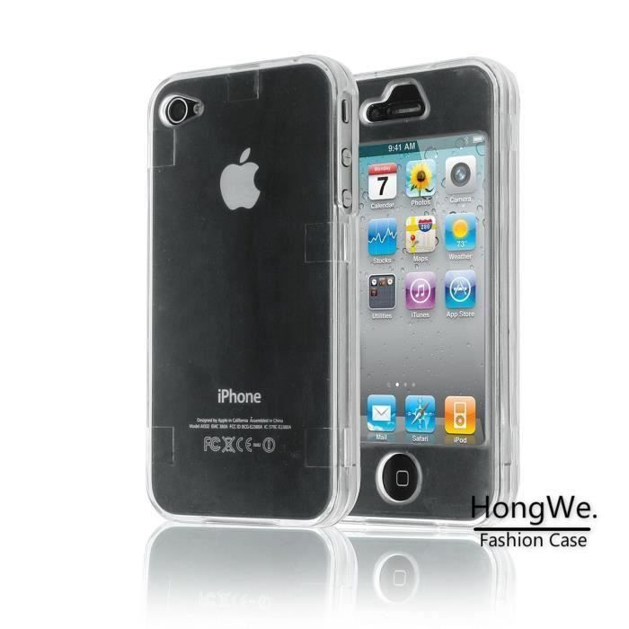 hlmonkey r tpu silicone coque pour iphone 4 4s