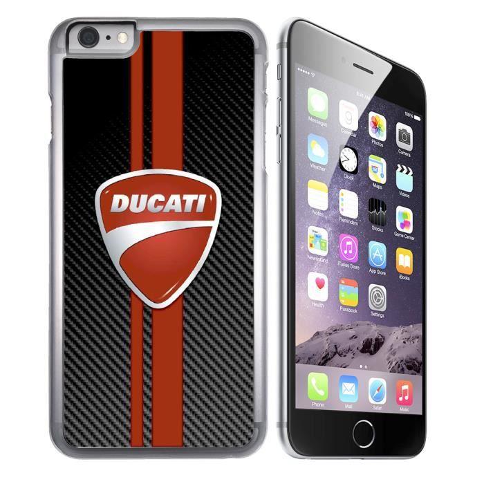 Coque iPhone 8 Ducati Carbone