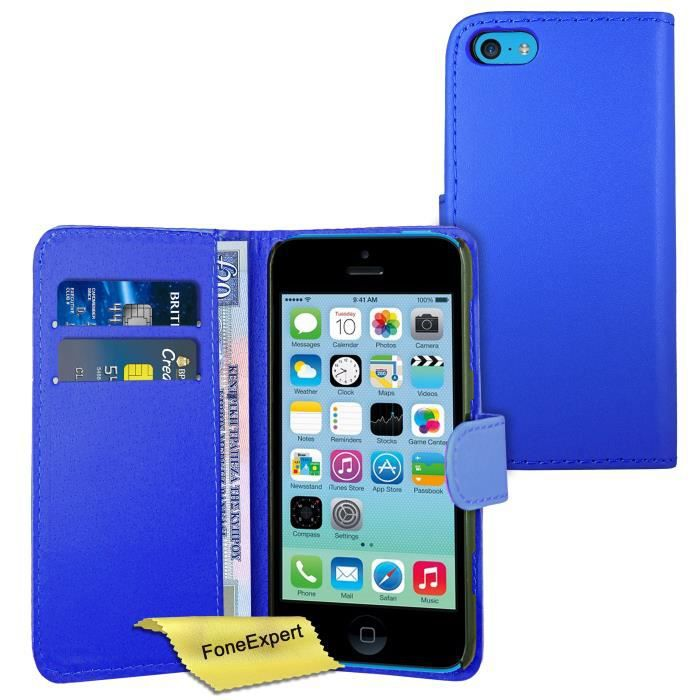 Coque Portefeuille Iphone S