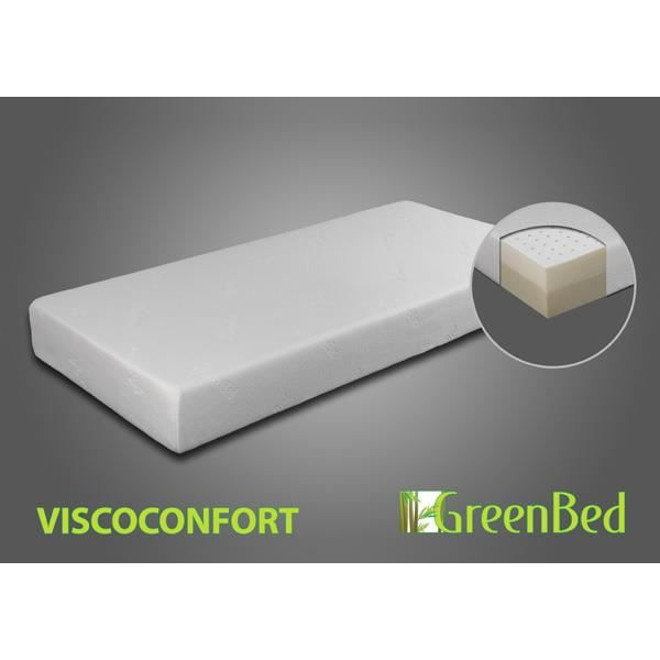 matelas m moire de forme viscoconfort 140x190 achat vente matelas cdiscount. Black Bedroom Furniture Sets. Home Design Ideas