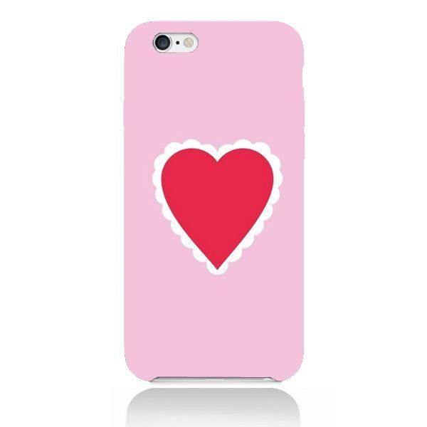 coque iphone 7 coeur rouge
