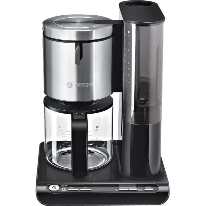 CAFETIÈRE BOSCH TKA8633 Cafetière filtre programmable Stylin