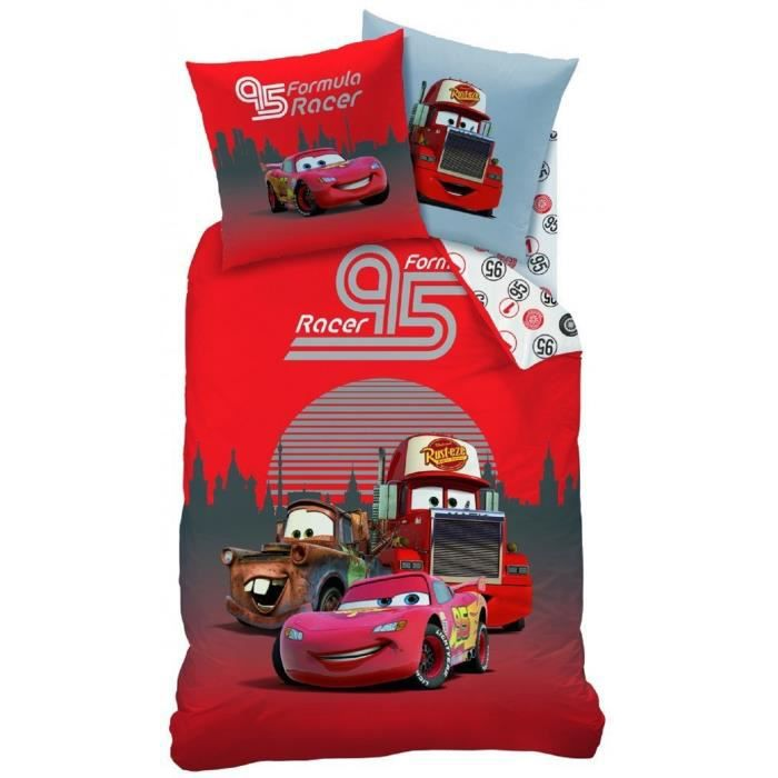 housse de couette 140x200 disney cars silverstone achat vente parure de drap cdiscount. Black Bedroom Furniture Sets. Home Design Ideas