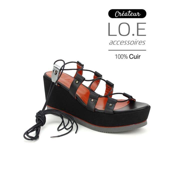 Sandales Compens/ées Femme Spot On