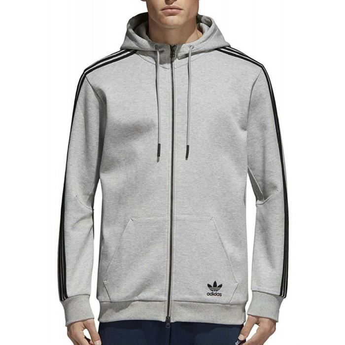 low priced new list large discount Adidas - Adidas Curated Fz Homme Veste Gris - (XS - Gris ...