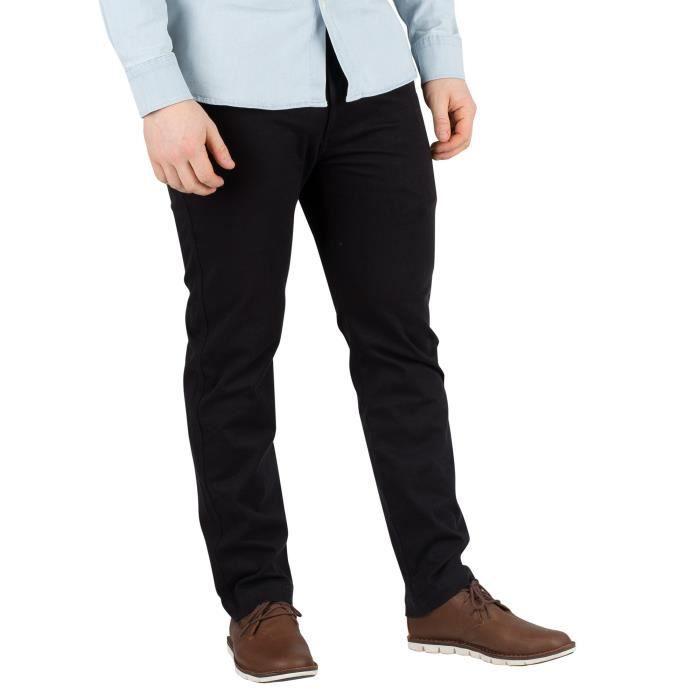 PANTALON Levi's Homme 502 Pantalon chino régulier, Noir