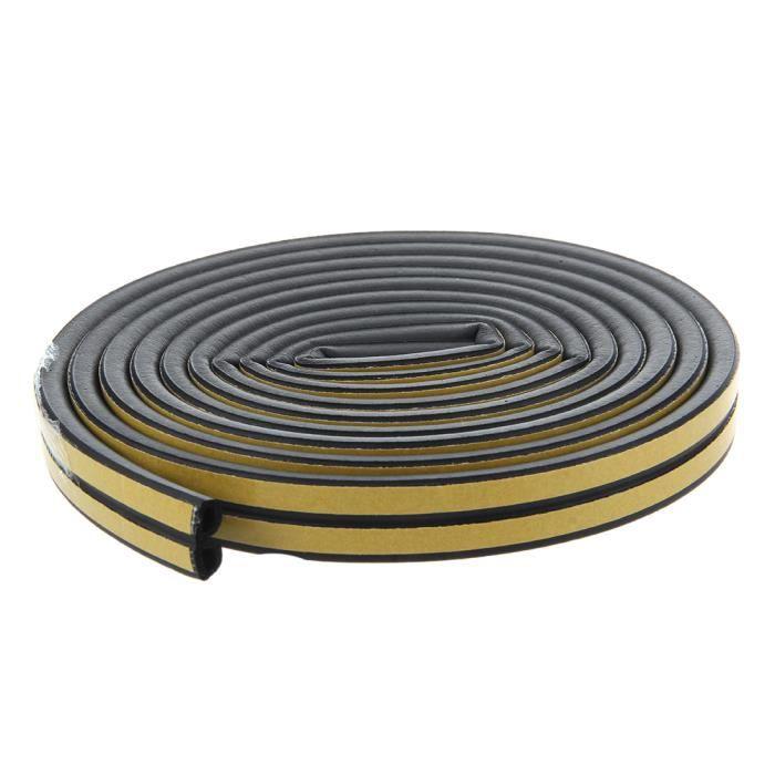 Joint en Caoutchouc Noir universel Type U bord 1,5-2 Mm Joints