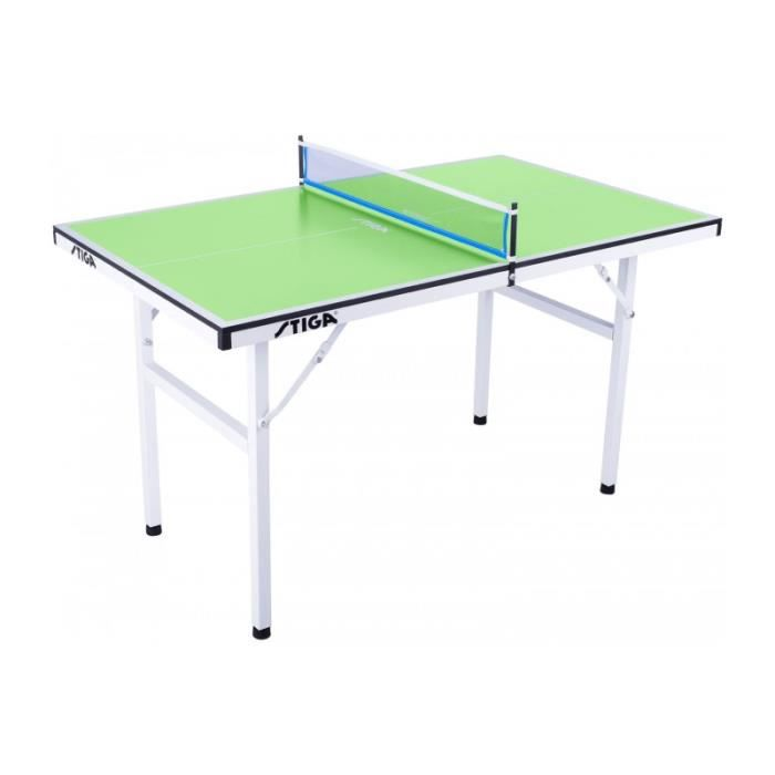 Stiga table mini verte de ping pong tennis de table - Table de ping pong pas cher decathlon ...