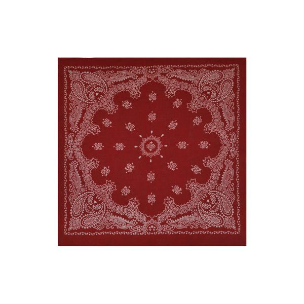 foulard bandana paisley rouge homme femme rouge achat vente casquette 3700651215989. Black Bedroom Furniture Sets. Home Design Ideas