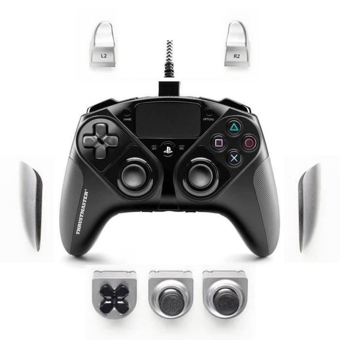 PACK PROMO THRUSTMASTER eSwap Pro Controller PS4 + Modules Interchangeables Argent